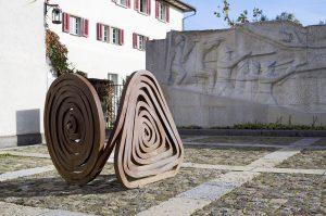 """Alpha und Omega"", René Küng, Ausstellung ""Aussteigen"" bis 27.3.2018"